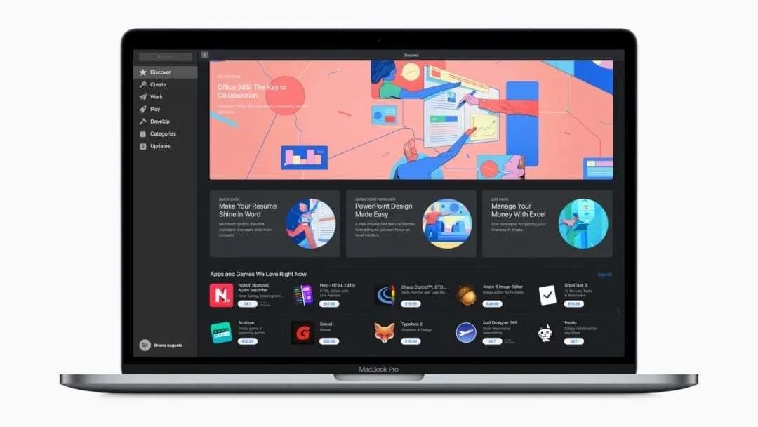 The Mac App Store Welcomes Office 365 NEWS