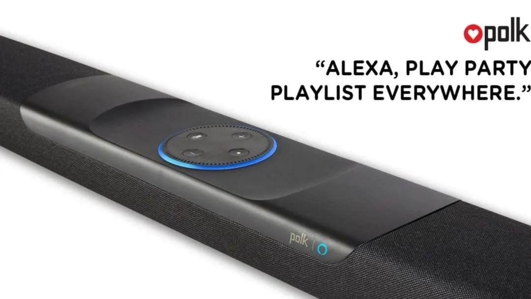 Polk Audio Announces Amazon Alexa-Enabled Command Bar NEWS