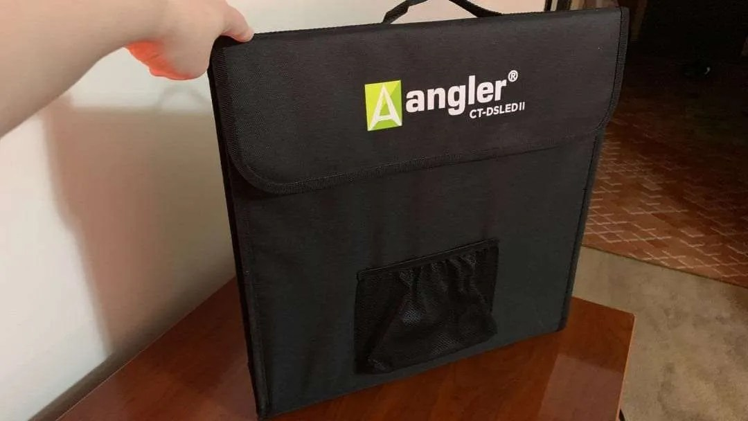 Angler Port-a-Cube LED Light Tent REVIEW