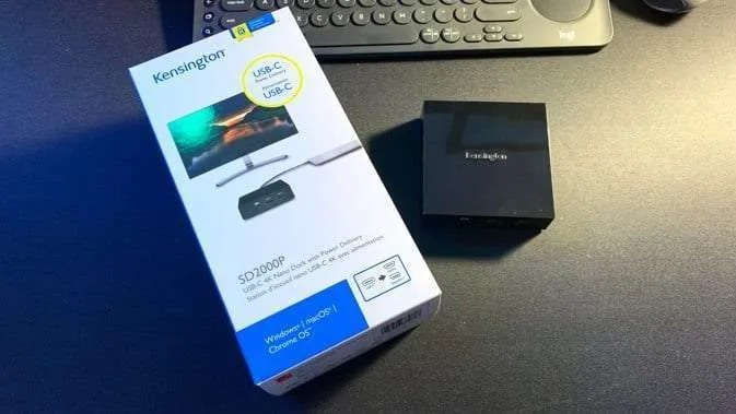 Kensington SD2000P USB-C 4K Nano Dock with PD REVIEW