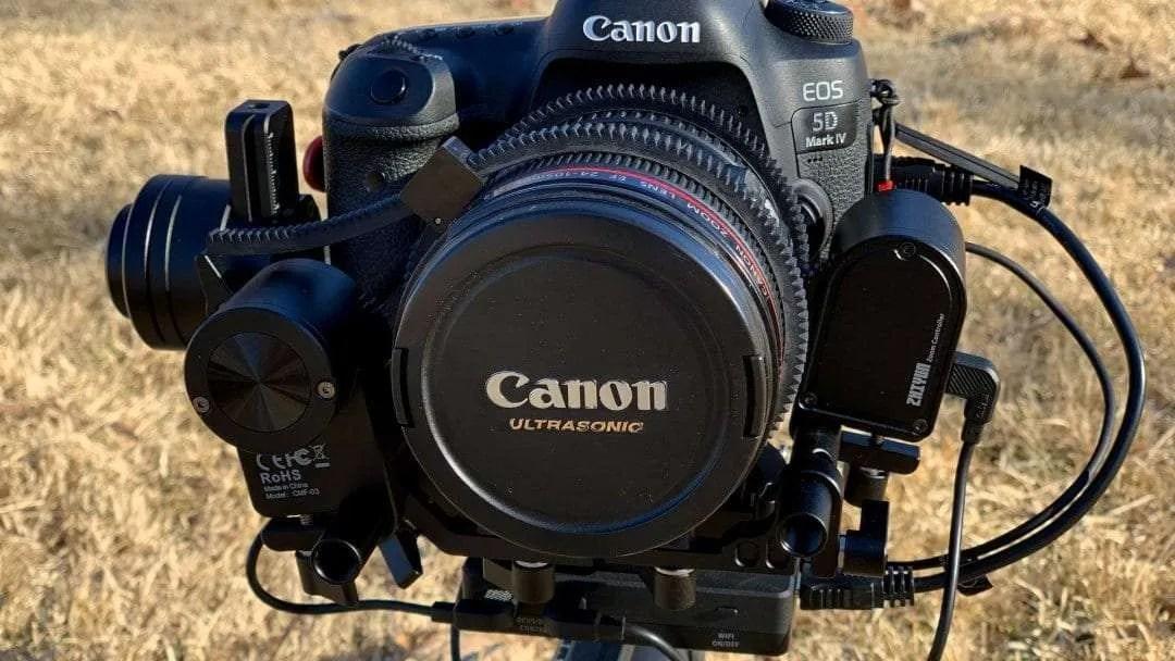 Zhiyun Crane 3 Lab DSLR Camera Gimbal REVIEW