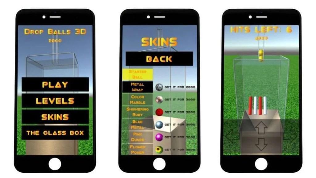 Drop Balls 3D iOS Game REVIEW