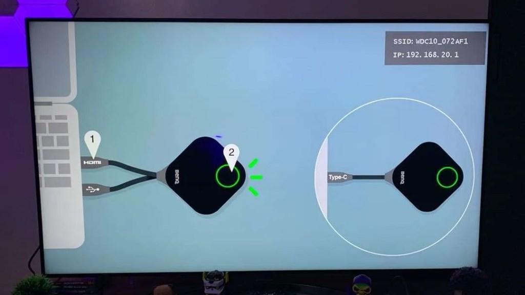 BenQ InstaShow WDC10C Plug and Play USB-C Wireless Presentation Device REVIEW