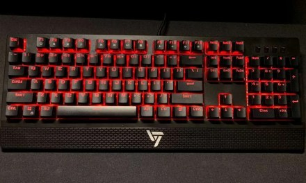 VicTsing Gaming Keyboard with Red Switches REVIEW