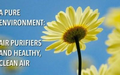 A Pure Environment: Air Purifiers and Healthy, Clean Air