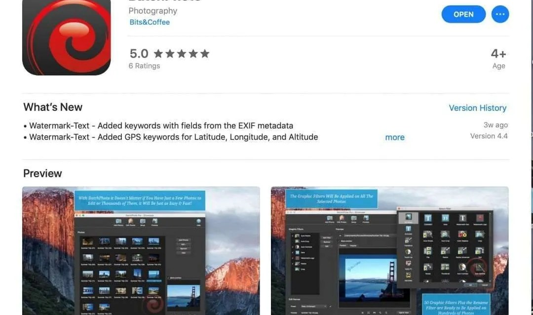 BatchPhoto App REVIEW Taking Your Photography to the Next Level