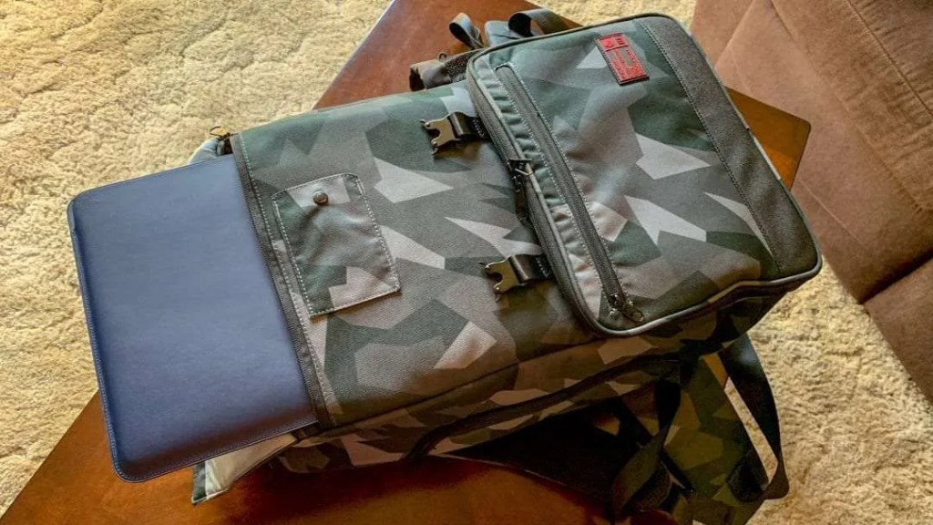 HEX Glacier Camo Cinema Backpack REVIEW