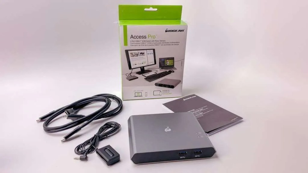 IOGEAR Access Pro™ 2-Port USB-C KVM Switch with Power Delivery REVIEW