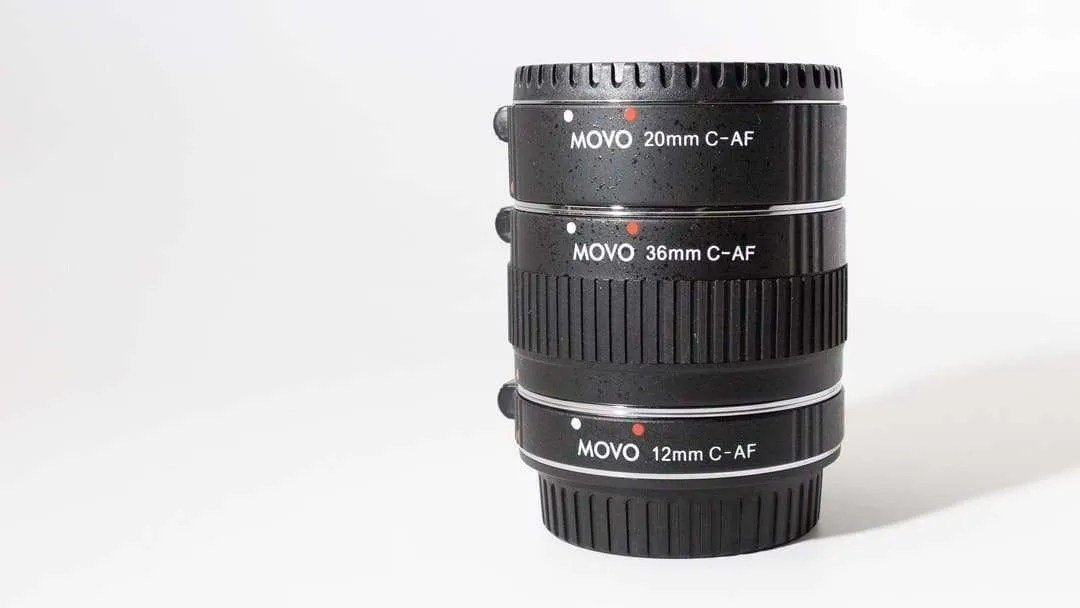 MOVO MT-C68 AF Extension Tube Set REVIEW