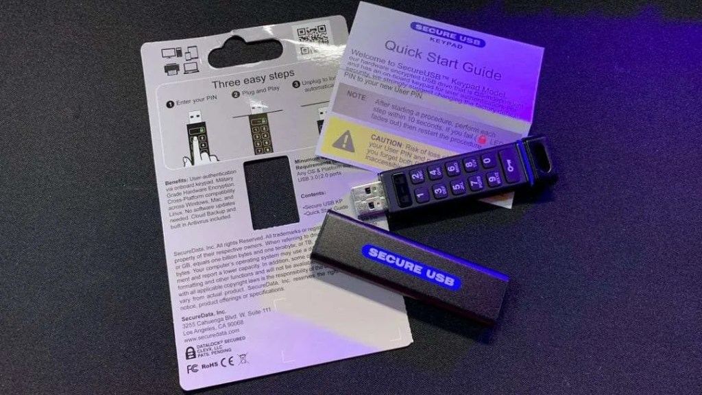SecureUSB KP Encrypted USB Drive REVIEW