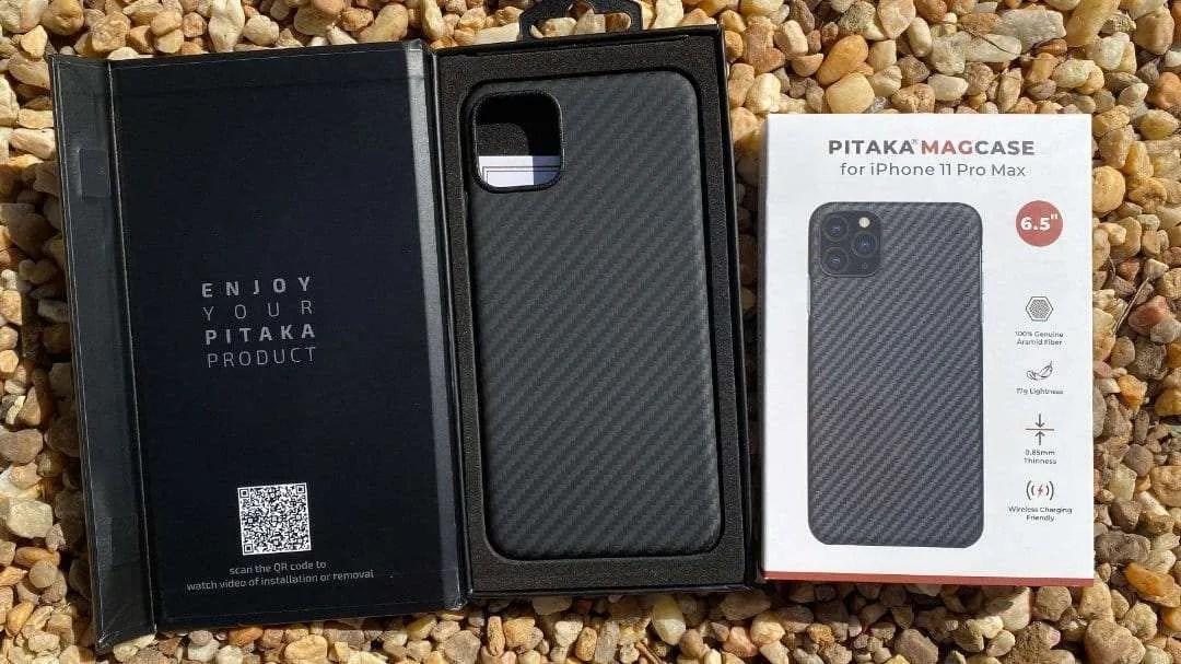 PITAKA MAGCASE iPhone 11 Pro Max REVIEW Roadtrip case ...