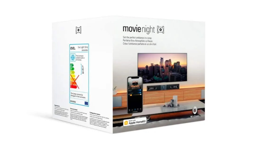 Transform your living room into a movie theater with Eve Energy and Eve Light Strip NEWS