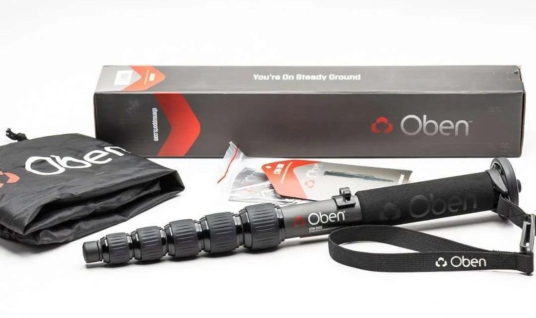 Oben CTM-2600 6-Section Carbon Fiber Monopod REVIEW