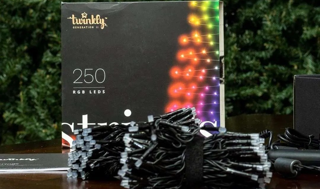 Twinkly Strings Multicolor RGB LED Smart Christmas Lights REVIEW
