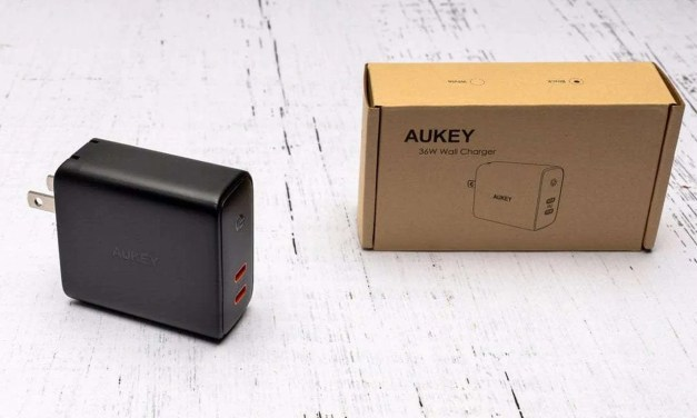 AUKEY (PA-D2) Focus Duo 36W Dual-Port PD Charger REVIEW