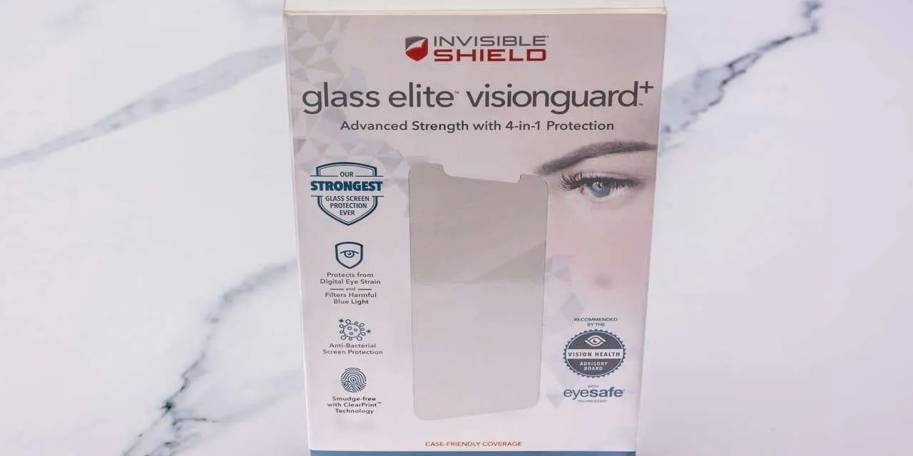 InvisibleShield Glass Elite VisionGuard+ review