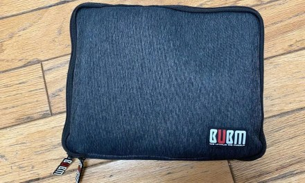 BUBM Large 1 Layer Universal Electronic Accessories Case Review