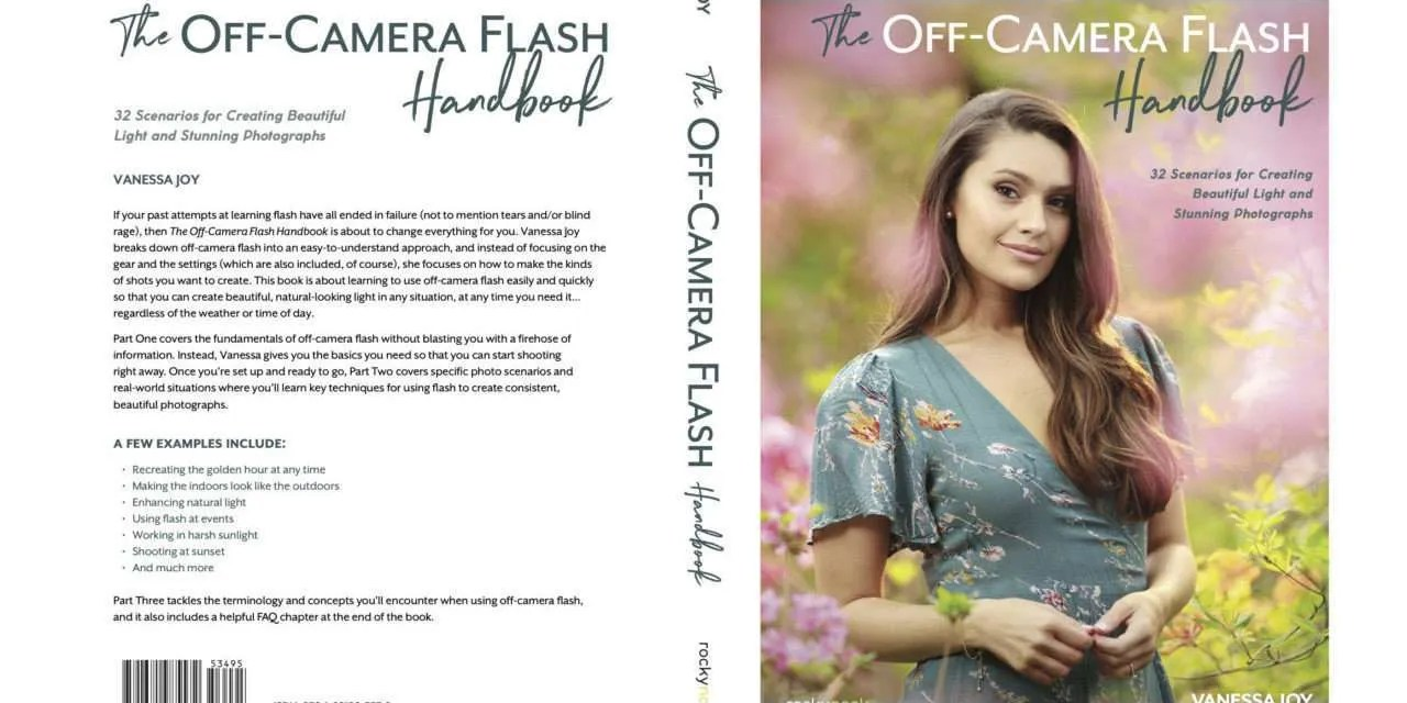 The Off‑Camera Flash Handbook by Vanessa Joy