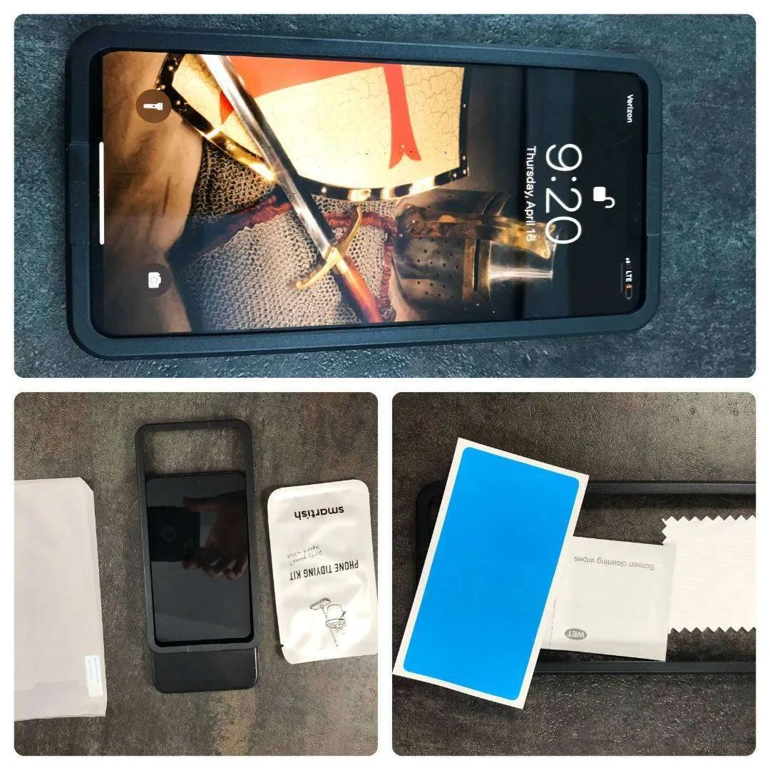 SMARTISH TUFF SHEET TEMPERED GLASS PROTECTORS REVIEW