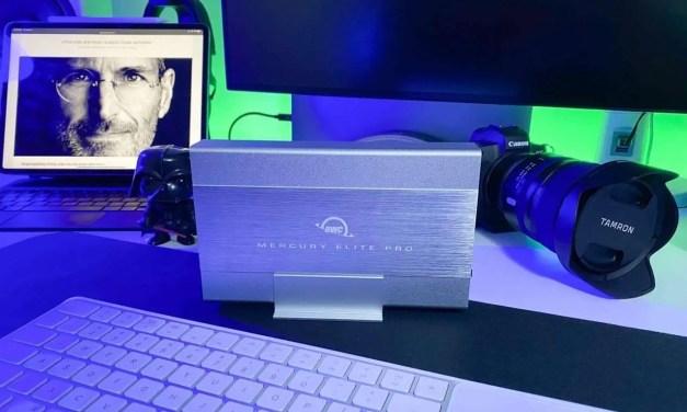 owc Mercury Elite Pro 3.5-inch USB 3.2Gb/s External Storage Solution review