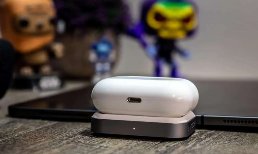 SATECHI USB C WIRELESS CHARGING DOCK FOR AIRPODS PRO REVIEW