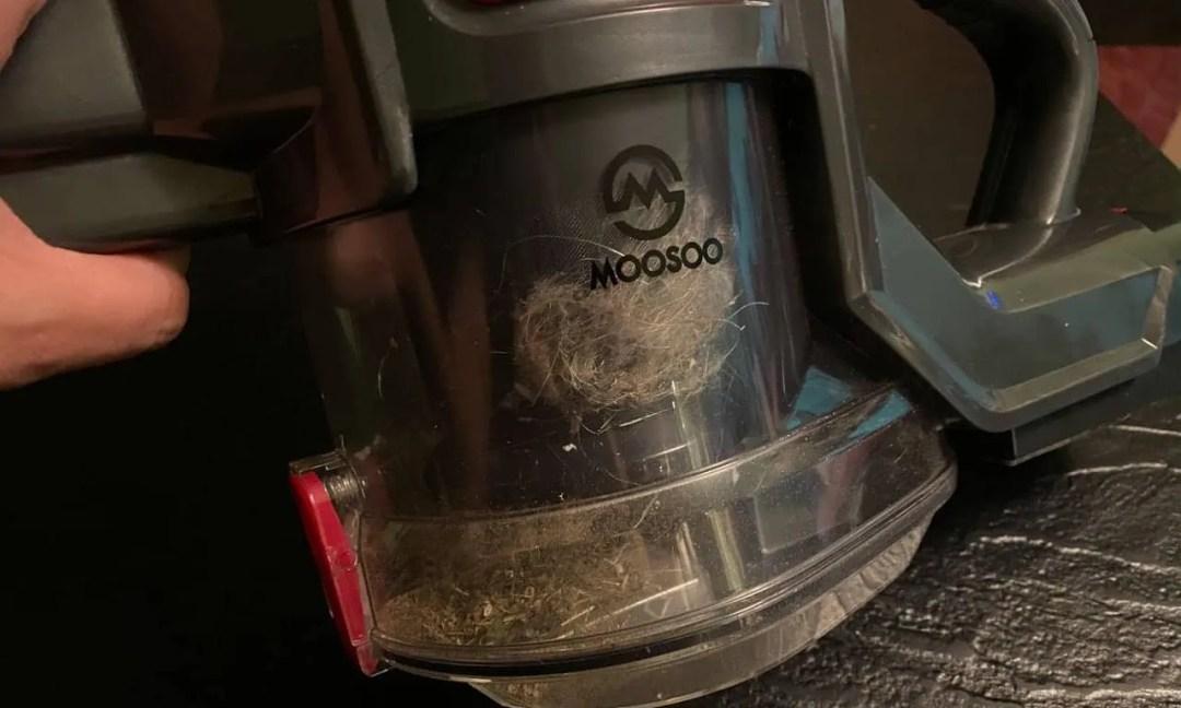 MOOSOO XL-618 CORDLESS VACUUM REVIEW