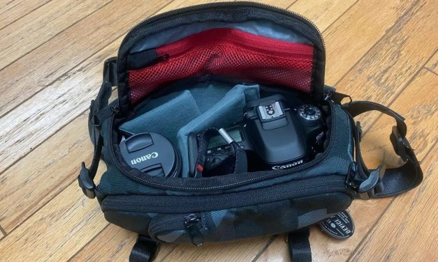 Hex Ranger Glacier Camo DSLR Mini Sling Bag REVIEW Fanny Pack Reborn