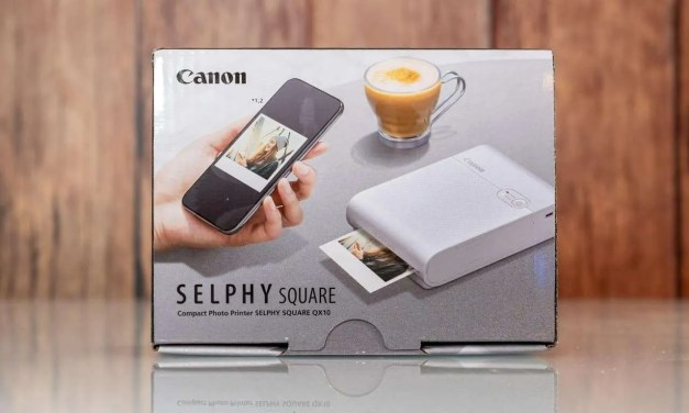 Canon SELPHY Square QX10 Mobile Photo Printer REVIEW