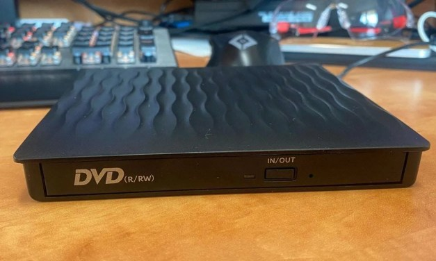 StepJoy Mobile External DVD-RW Drive Review