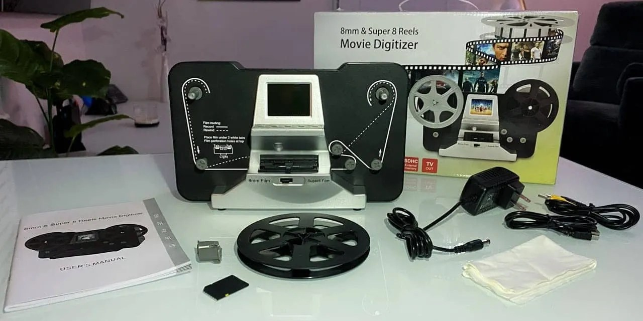 Jancane Super 8/8mm Film Scanner REVIEW