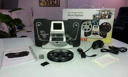 Jancane Super 8/8mm Film Scanner REVIEW