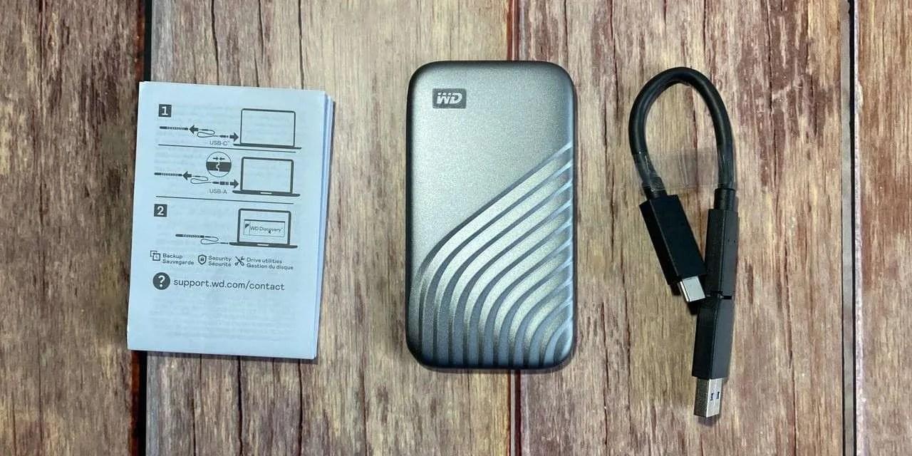 Western Digital My Passport 1TB SSD REVIEW