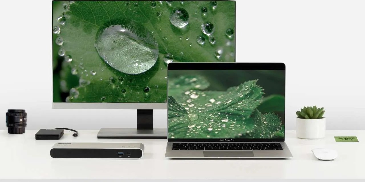 Plugable's Latest Thunderbolt 3 Dock is a Refresh for Creative Looking to Update their Workspace NEWS