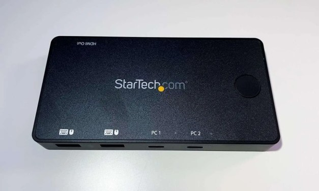 StarTech.com 2-Port HDMI USB-C KVM Switch REVIEW