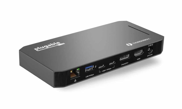 Plugable's TBT3-UDC3 Maximizes Performance and Keeps Workflow Running Smoothly with 100W of Power Delivery NEWS