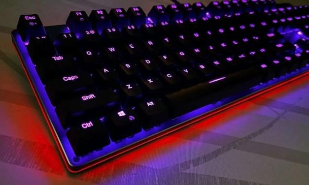Aukey 104-Key RGB Mechanical Keyboard REVIEW