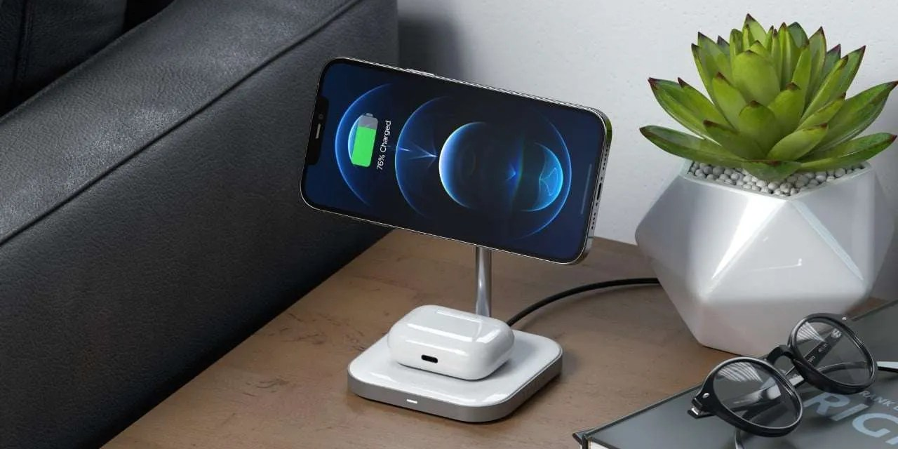 Satechi Unveils the Aluminum 2-in-1 Magnetic Wireless Charging Stand NEWS