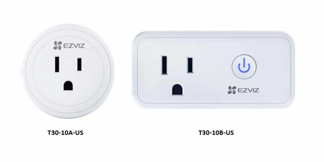 EZVIZ launches its new T30 smart plugs NEWS