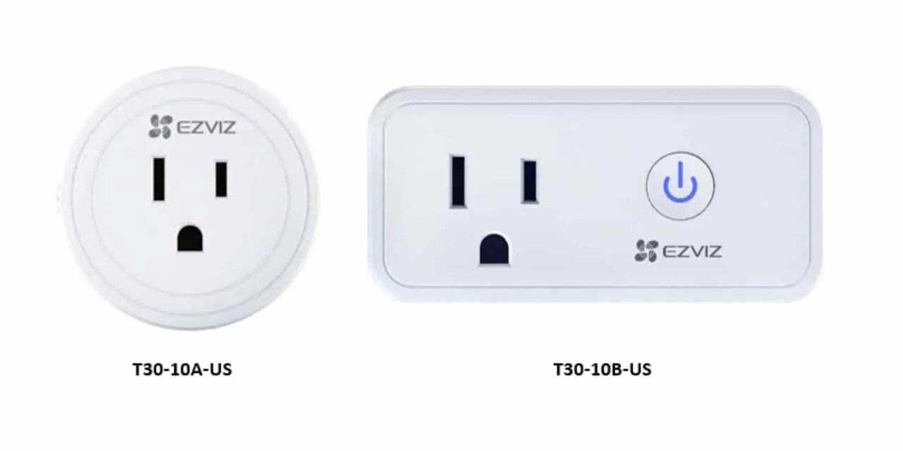 EZVIZ launches its new T30 smart plugs NEWS