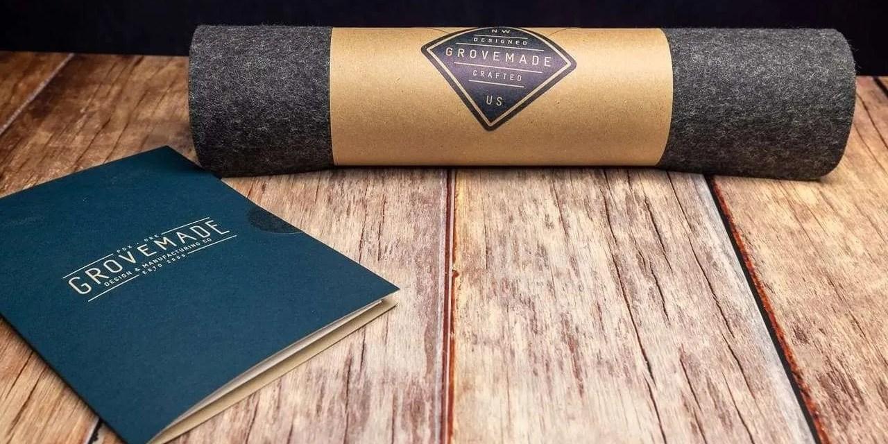 Grovemade Wool Felt Desk Pad REVIEW