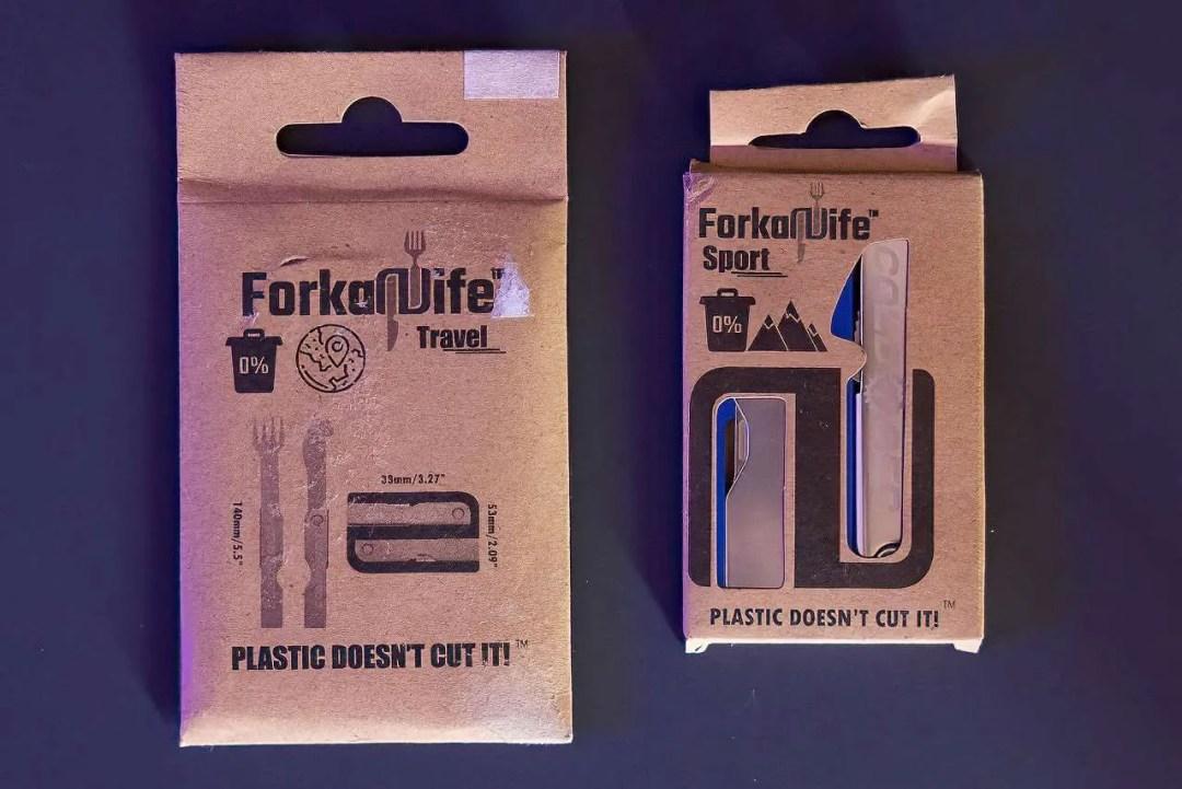 Cold4Ged Forkaknife Portable Utensils