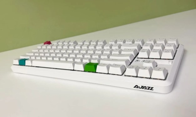 AJAZZ Bluetooth Dual-Mode Mechanical Keyboard REVIEW