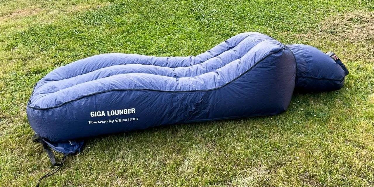 GIGA Lounger Inflatable Lounge Chair REVIEW