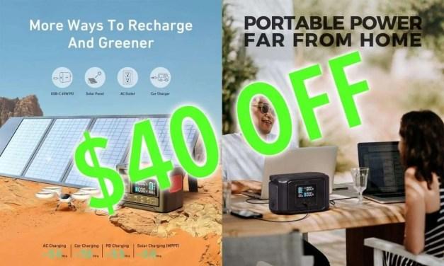 AUKEY Announces Portable Power Station Deals NEWS