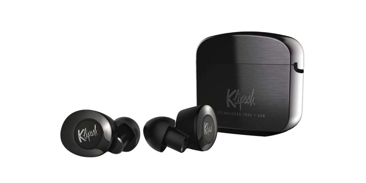 Klipsch Introduces Its First True Wireless Earphones with Active Noise Cancellation NEWS
