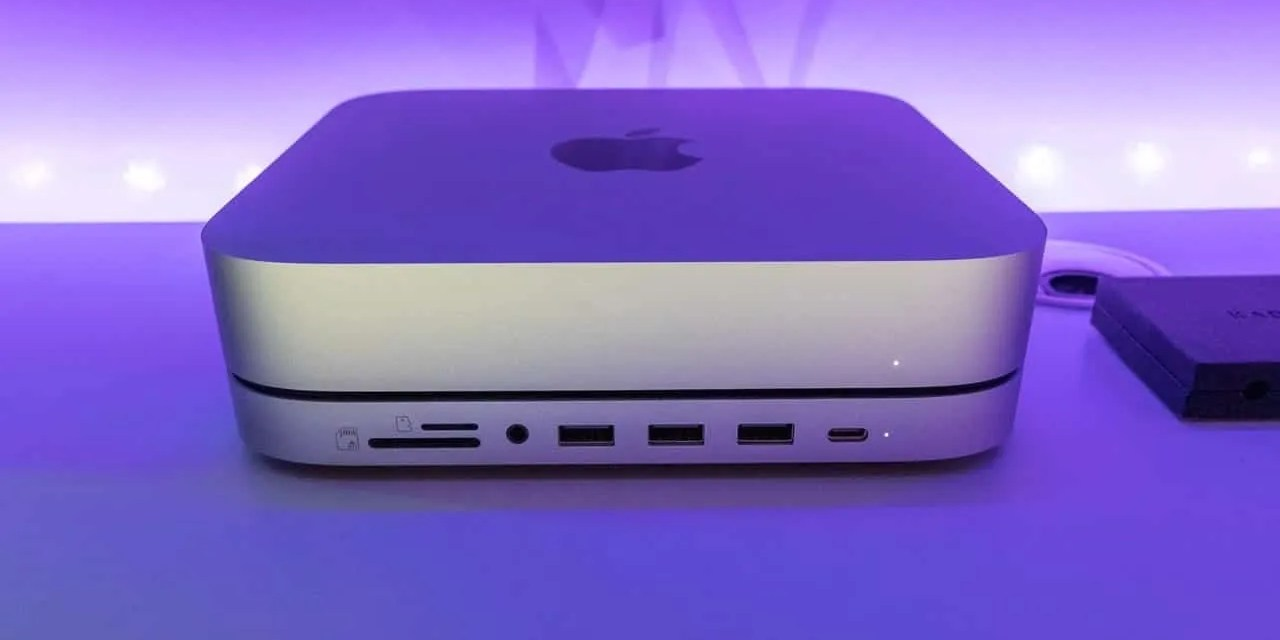 Satechi Stand & Hub for Mac Mini with SSD Enclosure REVIEW