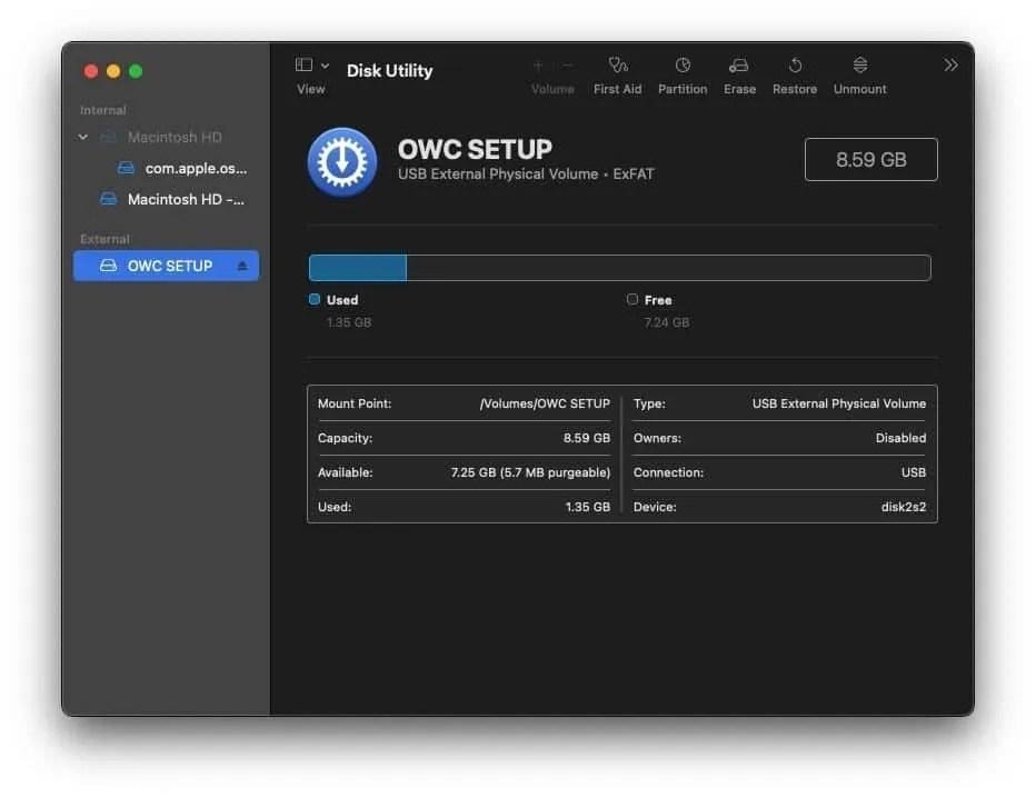 OWC Envoy Pro Elektron SSD
