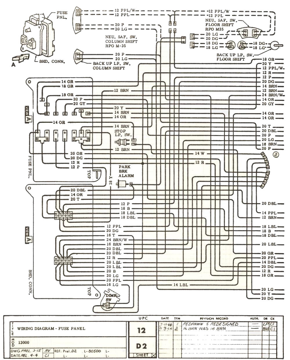 Fine 1968 Impala Wiring Diagram Photos - Electrical System Block ...