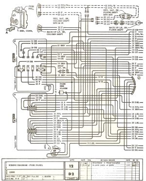1971 Chevelle El Camino Wiring Diagram | Wiring Library