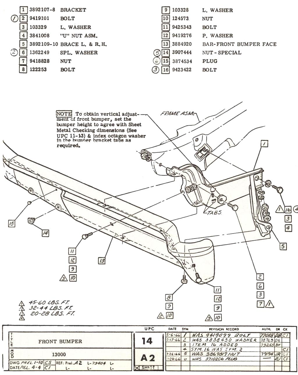 Chevelle Factory Assembly Instruction Manual